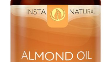 InstaNatural Almond Oil - 100% Pure & Certified Organic Almond Oil
