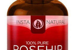 InstaNatural Organic Rosehip Seed Oil - 100% Pure & Unrefined Virgin Oil